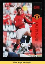 2003 Upper Deck Manchester United Cristiano Ronaldo #13 READ
