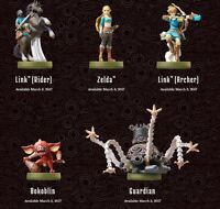 The Legend of Zelda Breath of the Wild Amiibo Series