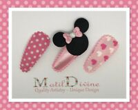 3X  Small Baby Bow Toddler// Girl Hair Clip  HC228