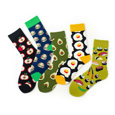 Men Women Cotton Socks Size7-12 Funky Colourful Sox Novelty Casual Sushi Avocado