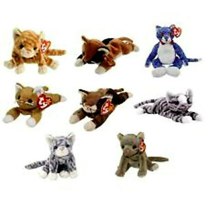 CATS ***TY BEANIE BABIES***
