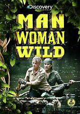 Man Woman Wild COmplete First Season 1 One DVD Set Series Discovery Documentary