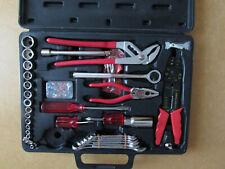 Gebrauchter Werkzeugsatz im Koffer, 35 tlg. Dachbodenfund