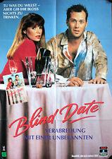 Blind Date Verabredung mit einer Unbekannten Filmposter A1 Videoplakat Basinger
