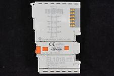 Beckhoff EL1018   8-Kanal-Digital-Eingangsklemme 24 V DC, 10 µs