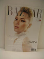 "BRAND NEW: MAY 2011 HARPER'S BAZAAR UK WITH KATE MOSS COVER ""FASHION ROYALTY"""