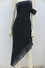 NWT Design X by La Casa Hermosa Custom Sequin Beaded Dress Size M MSRP $1950