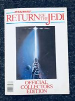 Vintage Star Wars Return of the Jedi 1982 Official Collectors Edition Magazine