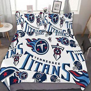 Tennessee Titans 3PCS Bedding Sets Comforter Cover Pillowcase Duvet/Quilt Cover