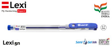 10 LEXI 5n Ball Pen -blue ball pen 1 PACK OF 10 BALL PENS .FOR  SMOOTH WRITING!!