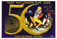 Billy Cannon Autographed/Signed LSU Tigers 14x20 NCAA Halloween Run Photo