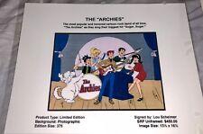 Rare The Archies Laminated Cel Promo Binder LOU SCHEIMER