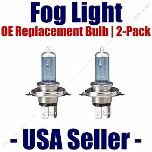 Fog Light Bulb 2pk Upgrade Replacement Fits Listed Kia Vehicles 9006CVSU