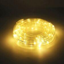 10m LED Lichterschlauch Lichtschlauch Lichterkette Party Deko Leiste Außen Innen