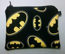 Batman Handmade Change Coin Purse    Gift Card Holder