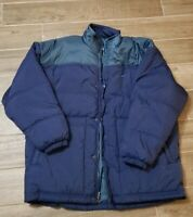 NWT NIKE Puffer Jacket Blue Men's Large New Coat Polyester $120 msrp