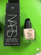 NARS NATURAL RADIANT LONGWEAR FOUNDATION * Light 1 Oslo * 0.5oz * Free Ship Read