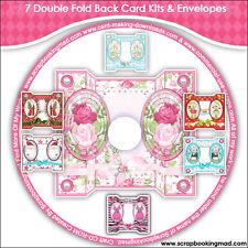 DISK 10 - 7 Double Fold Back Card Kits & Envelopes - CD-ROM