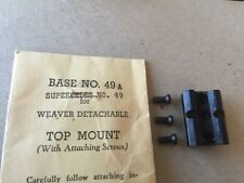 Weaver Top-Mount Scope Base #49A Gloss For Winchester M70 48049
