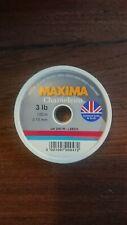 50 80 et 100 lb Maxima Chameleon 50m rejoint Ligne de pêche en mer
