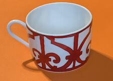 Hermes Paris Porcelaine , Balcon Du Guadalquivir Double Espresso Cup (Chipped)