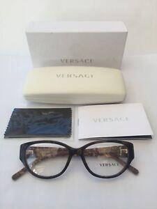 New Ladies Versace Acetate Ophthalmic Frame Model OVE3183, Colour 5083 Havana