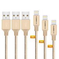 3X Lightning Kabel iPhone USB Ladekabel iPhone Xs Xr X iPhone 8 7 Plus 1m 2m 3m