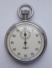 Agat Vintage Ussr Russian Soviet stop watch stopwatch Chronometer 15 jewels 1652