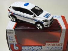 Bburago 1/43 Ford kuga police municipale