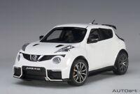 Autoart 77456 - 1/18 Nissan Juke R 2.0 (2016) - White - Neu