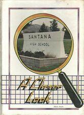 1986 Santee, CA, Santana High School Year Book