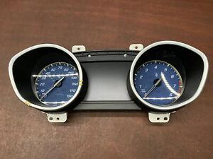 2015 Maserati Ghibli S Q4 Speedometer Instrument Cluster Gauge 22k OEM
