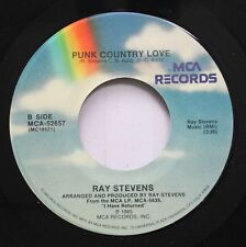 Country 45 Ray Stevens - Punk Country Love / The Haircut Song On Mca Records