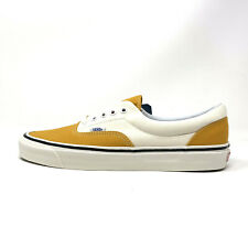 Vans Era 95 DX Anaheim Factory OG Saff White Yellow Men's 13 Skate Shoes New