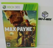 MAX PAYNE 3 - XBOX 360 (COMPLETE WITH MANUAL)