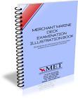MERCHANT MARINE DECK EXAMINATION ILLUSTRATION MET BOOK EXAM STUDY COURSE