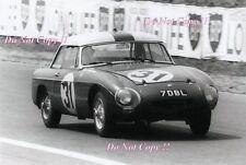 Paddy Hopkirk & Alan Hutcherson MGB Le Mans 1963 Photograph 1