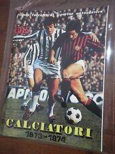 Album figurine Calciatori EDIS 1973/74 + Set Completo Anastatico Reproduction
