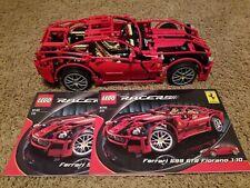 Lego Technic Racers 8145 Ferrari 599 GTB Fiorano 100% Complete w/ Manuals 2007