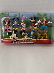 Disney Junior Mickey Collectible Figures Set 8 Pieces