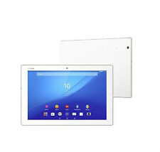 Sony Xperia Z4 SGP771 32GB, Wi-Fi + 4G (Unlocked), 10.1in - White w/ Keyboard