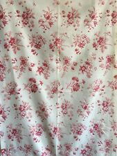 Lovely Early 20th C. French Printed Cotton Floral Fabric (2342)