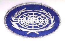 "Star Trek Starfleet Oval Silver Logo 4"" Patch- Lincoln -FREE S&H (STPAL-040)"