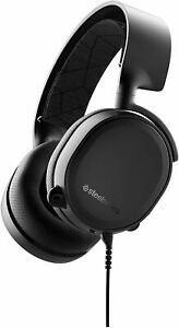 SteelSeries Arctis 3 Console - Stereo Wired Gaming Headset for Wired, Black