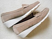 Lotus 'Jenna' Ladies Natural Suede Loafer UK Size 7