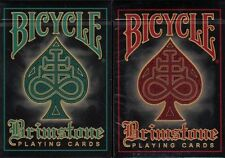Brimstone Bicycle 2 Deck Set Playing Cards Poker Size USPCC Custom Limited New