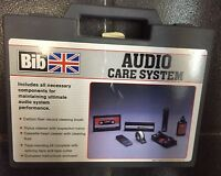 Audio Care System Tape Head and Record Cleaner Care Kit BIB BK-3 NEW RARE UK