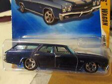 Hot Wheels '70 Chevelle SS Wagon 2009 New Models Blue