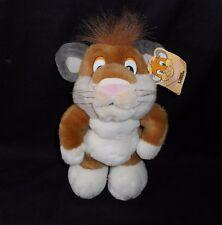 "11"" VINTAGE 1996 MGM GRAND LAS VEGAS PAWS LION STUFFED ANIMAL PLUSH TOY W/ TAG"