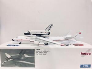 Herpa Wings Antonov AN-225 Mriya & RKK Energiya Buran 1:500 CCCP-82060 518895